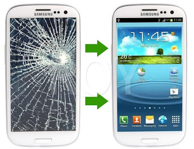 Thay mat kinh Galaxy S3 mini chinh hang gia re