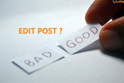 Pengaruh ngedit post lama terhadap google adsense dan SEO