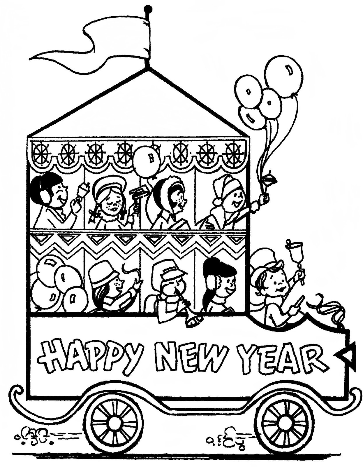 Mostly Paper Dolls Too!: HAPPY NEW YEAR to Everyone!