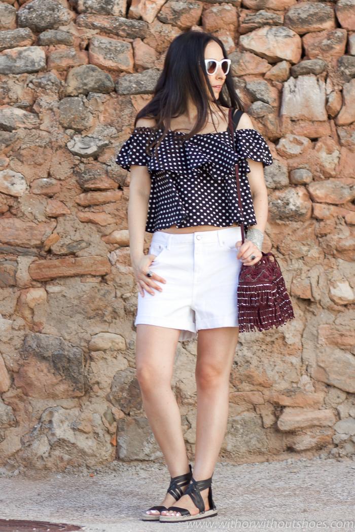 Blogger de moda y belleza valenciana con looks femeninos  zara