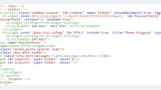 Cách sử dụng thẻ b:class và b:attr thêm thuộc tính vào widget