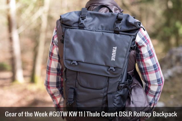 Thule Covert DSLR Rolltop Backpack Fotorucksack 01
