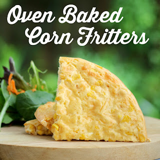 Oven Baked Corn Fritters Recipe