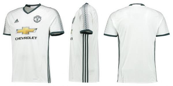 La tercera camisetas del Manchester United 2017 viene en un diseño  elegante 965933d31e755