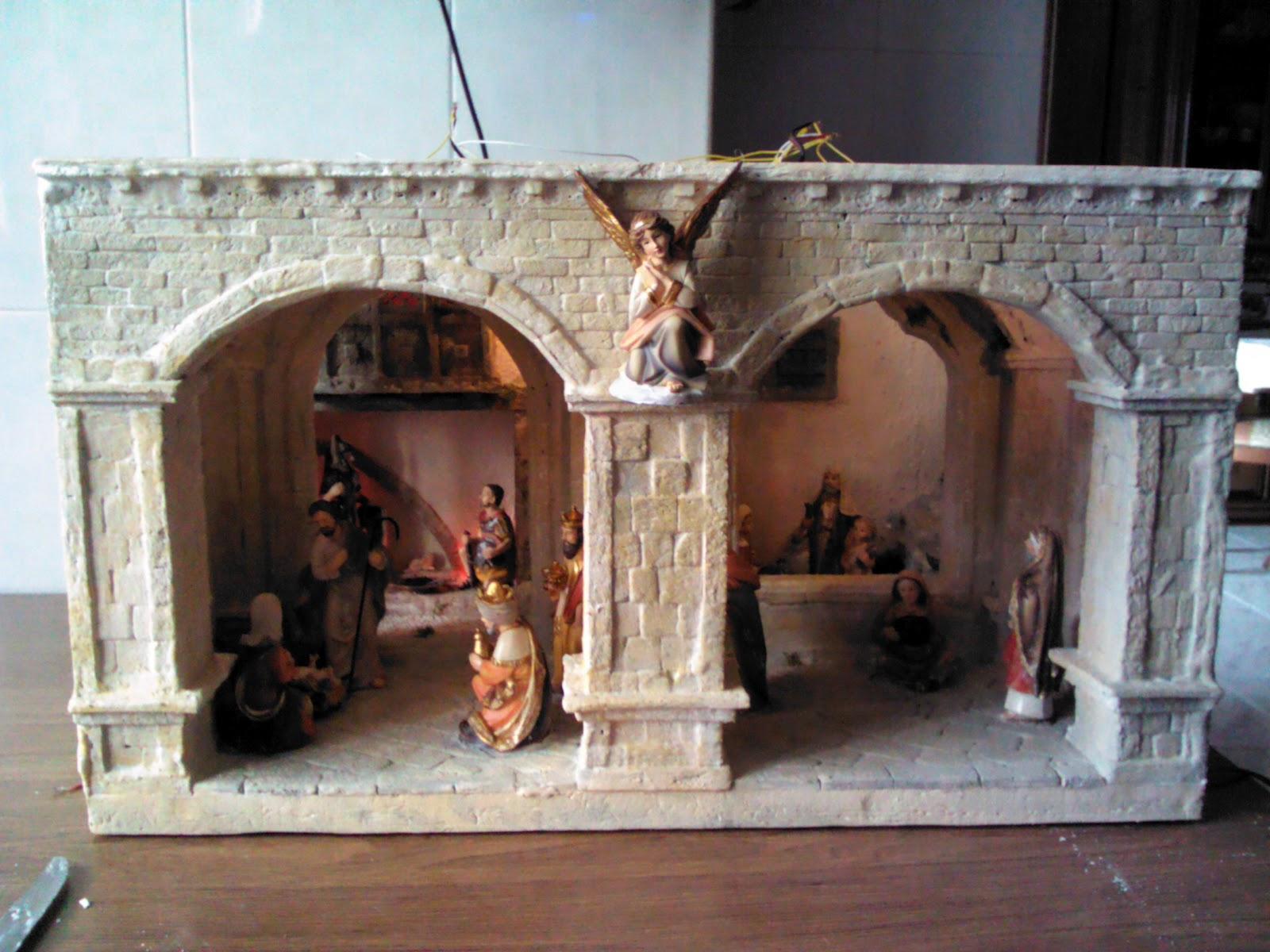 Favorito Presepi artigianali & diorami di Giuseppe Barreca: PRESEPE 2011: 2/2 XW11