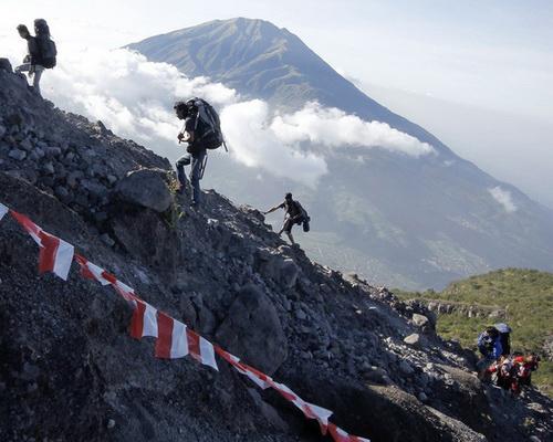 Tinuku Travel Climb Mount Merapi in Sleman Yogyakarta and Selo Central Java