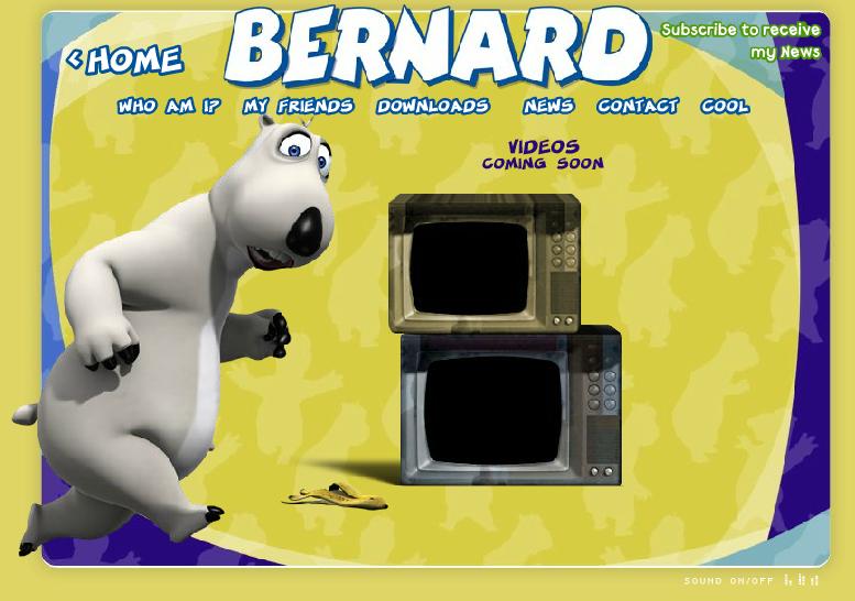 Bernard Bear Backkom Video Movie Clip