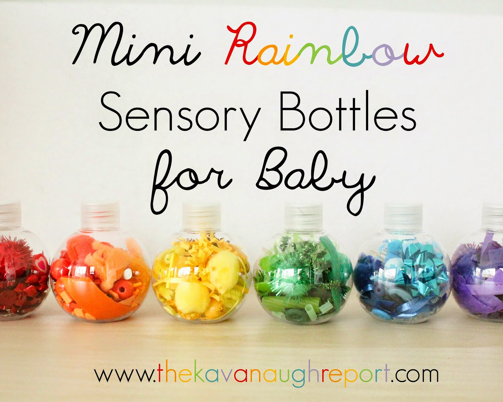 Montessori friendly way to introduce colors and small object to babies in a safe and fun way.