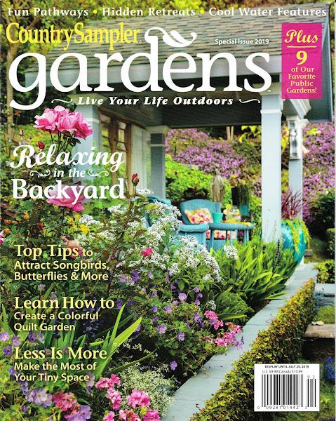 Country Sampler Gardens Magazine