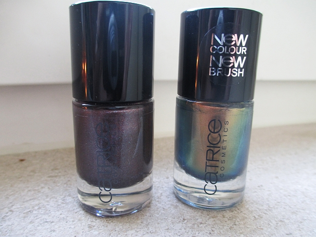 Fall Favs: Nail Polishes -  Catrice Genius In A Bottle and Steel My Heart Review!