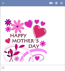 Mothers day Facebook Sticker