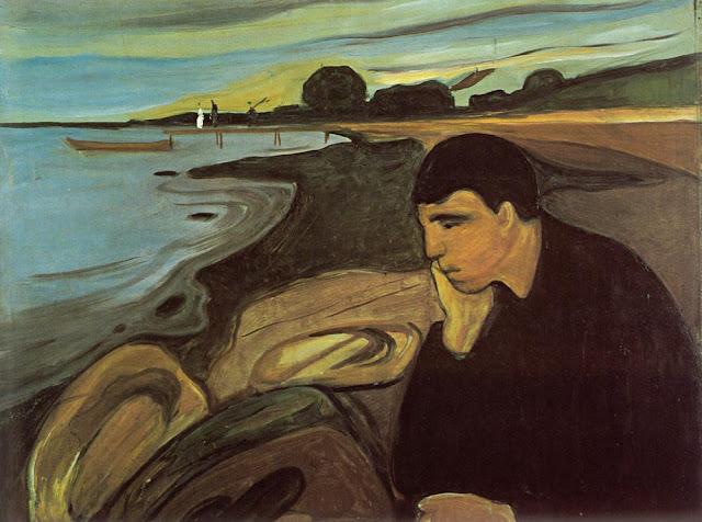 Edward Munch Melankoli