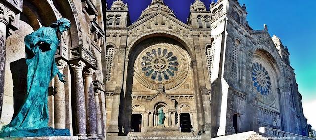 Sagrado Coração de Jesus, Basílica de Santa Luzia, Viana do Castelo
