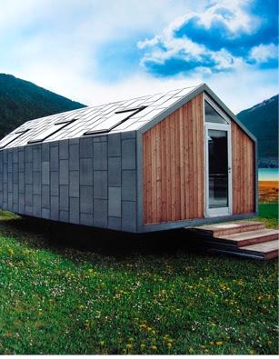 Casas modulares y prefabricadas de dise o refugio de monta a prefabricado - Casas prefabricadas experiencias ...