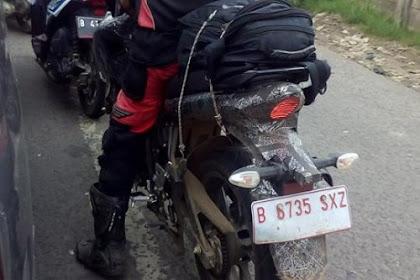 Inikah Penampakan Suzuki Bandit 150 yang Sudah Tes Ride di Jalanan?
