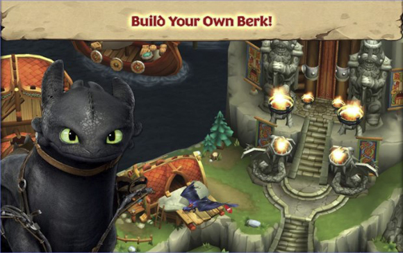 Dragons Rise of Berk Mod Apk for Android