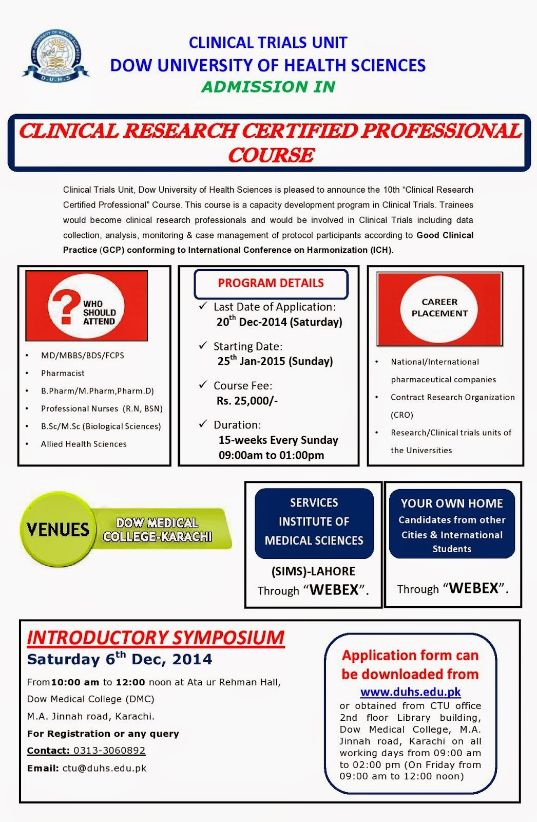 YAISHWARYAJ: {Awareness} Admission in 10th CLINICAL RESEARCH