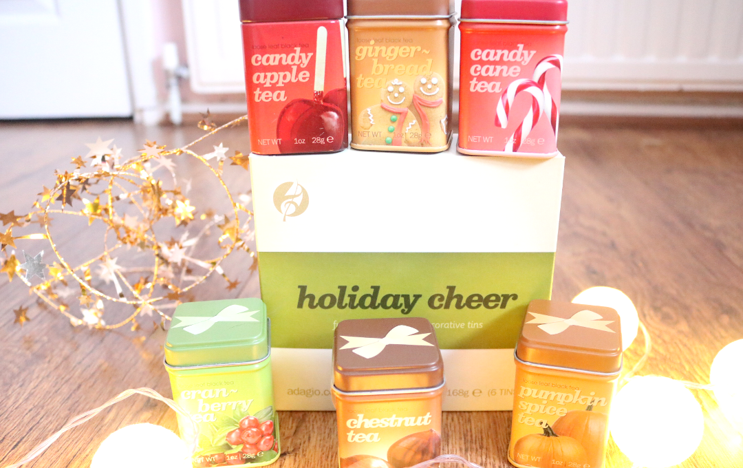 Adagio Teas Holidays Cheer Stocking Stuffers Set