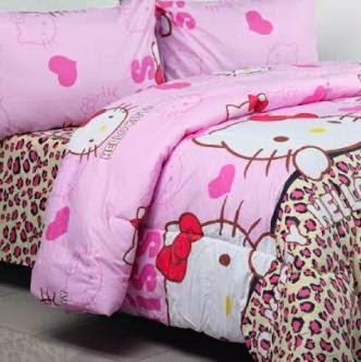 Jual Sprei Motif Hello Kitty Di Jakarta Grosir Murah Aneka