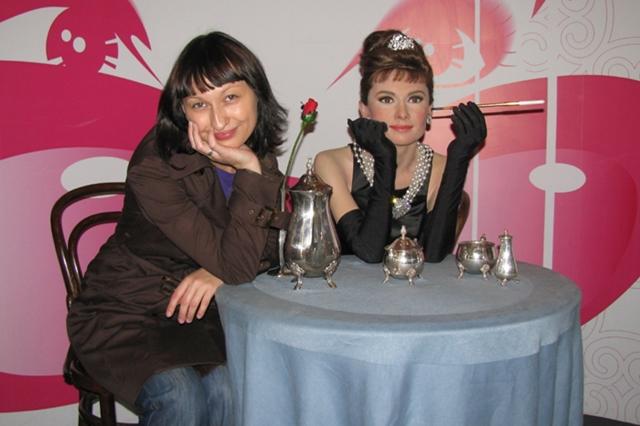 Audrey Hepburn figura woskowa w londynie