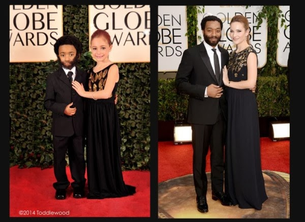 kids mimic celebrities golden globe awards