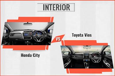 So sánh nội thất giữa Toyota Vios 2017 và Honda City, tôi biết chọn xe nào ?