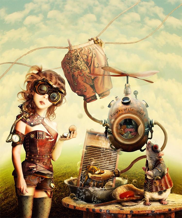 01-Cinderella-LLen29-Story-Steampunk-www-designstack-co