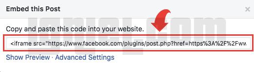 Tutorial Terbaru Memasukkan Status Facebook Ke Dalam Artikel Blogger