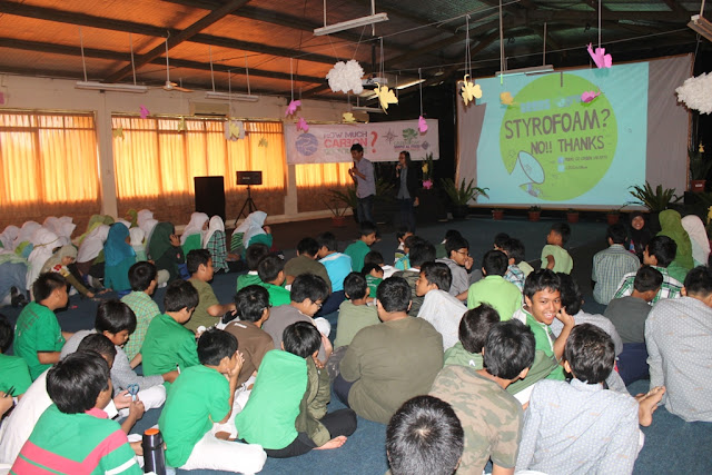 Green Day Teens Go Green SMPIF Al Fikri