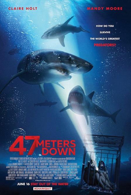 47 Meters Down (2017) 720p y 1080p WEBRip mkv AC3 5.1 ch susb español