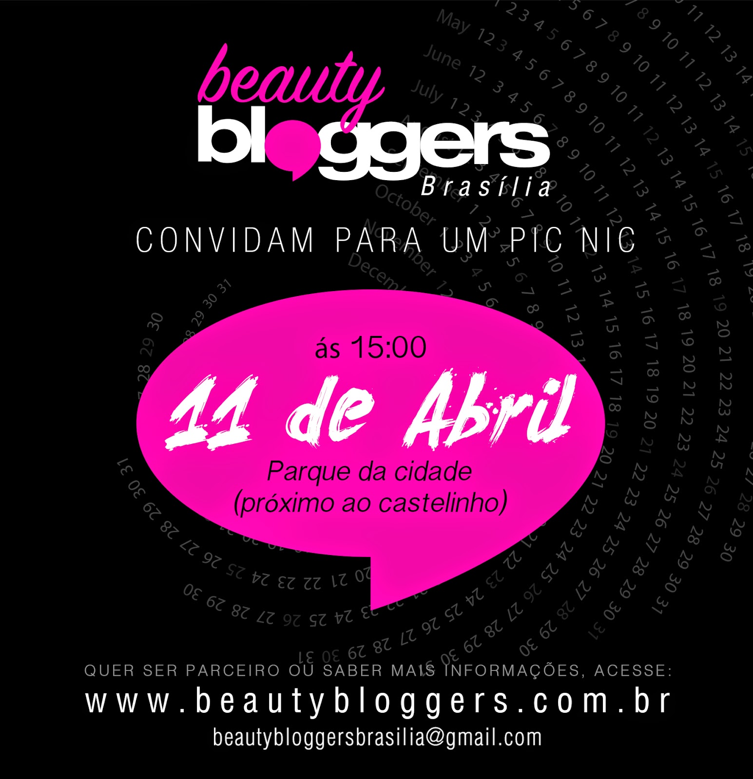 Pic Nic oficial das Beauty Bloggers Brasília