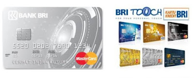 Gambar design kartu kredit BRI