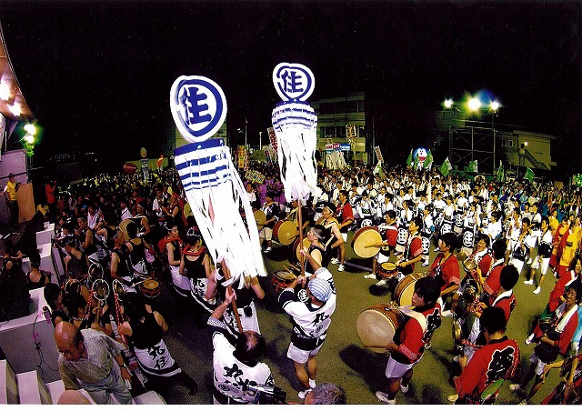 Paper Festival, Shikoku-Chuo City, Ehime Pref.