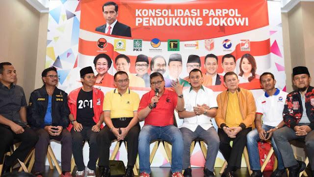 Tim Jokowi-Ma'ruf Dekati Taipan untuk Galang Dana Kampanye