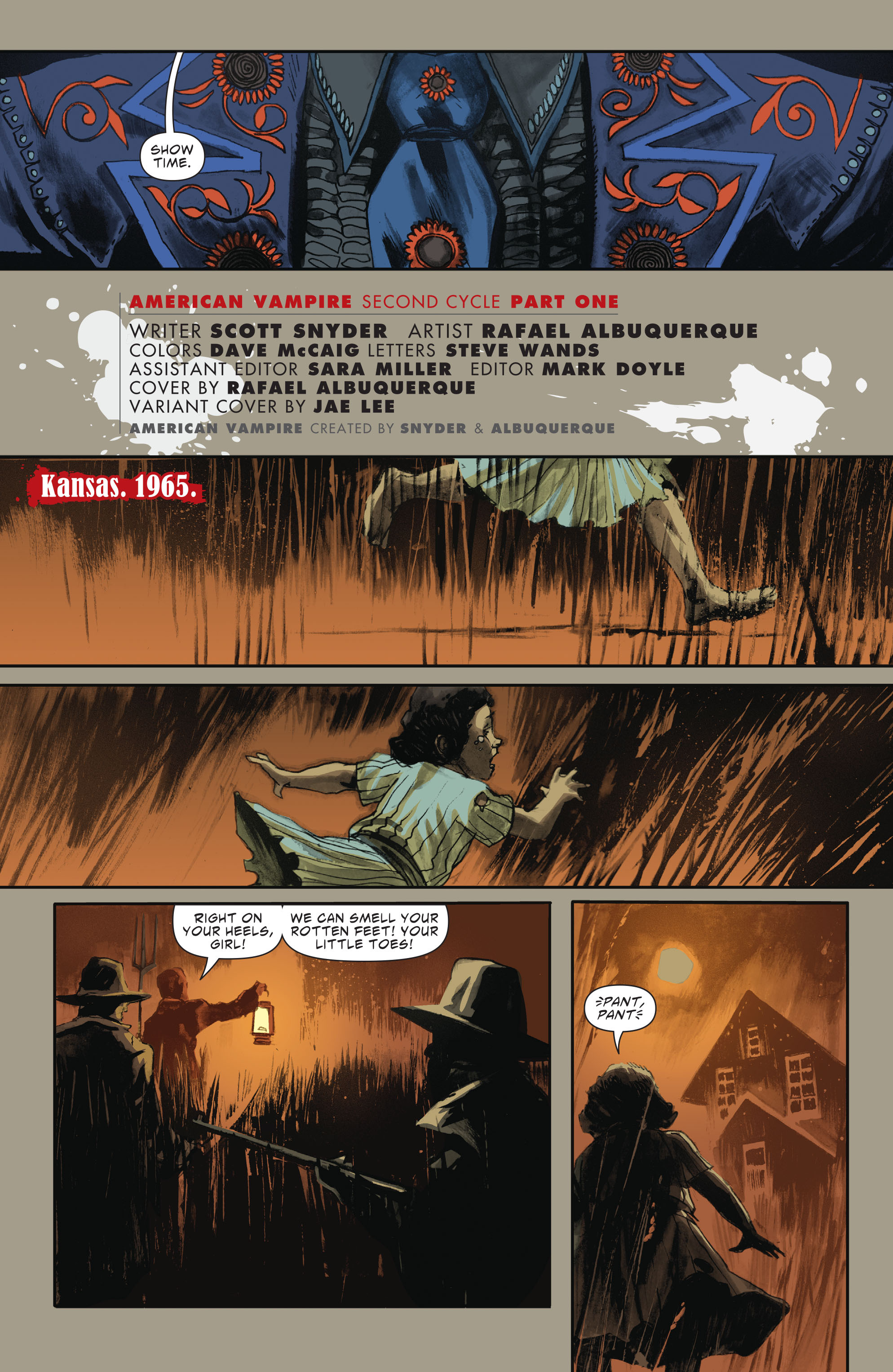 Read online American Vampire: Second Cycle comic -  Issue #1 - 6