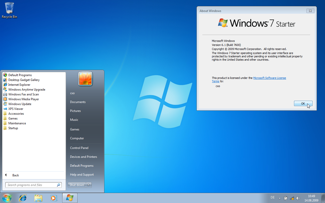 windows 7 starter sp1 descargar