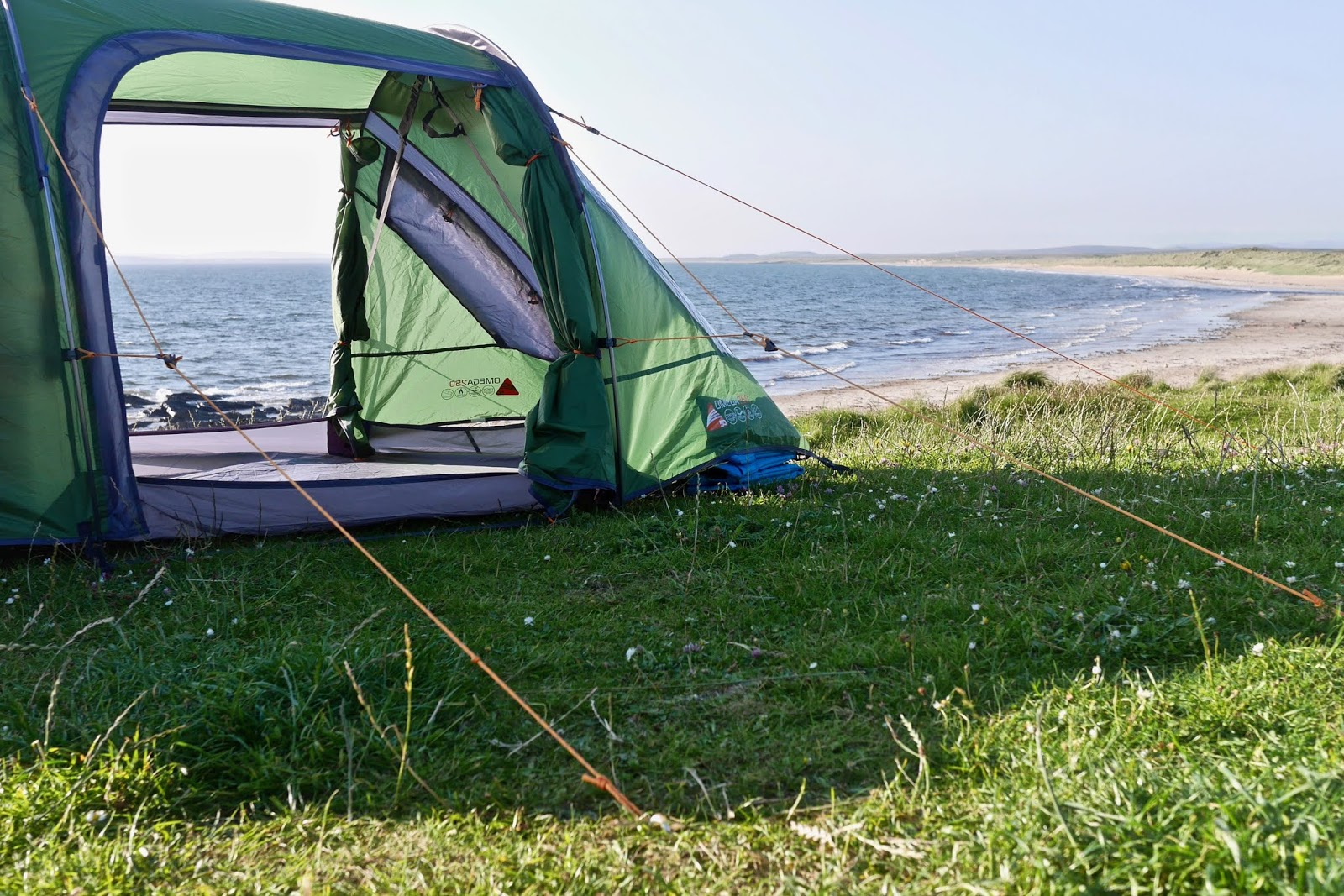 Camping in Islay, Campsites in scotland that allow fires