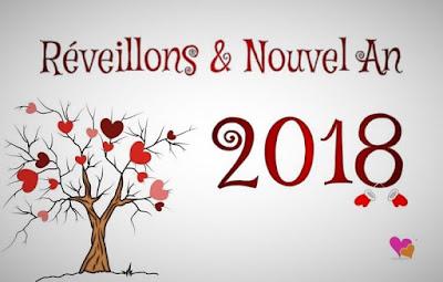Réveillon de la Saint Sylvestre pour célébrer le passage à la nouvelle année 2018