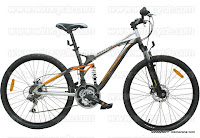 26 Inch Wimcycle Maxxis DX Full Suspension Mountain Bike