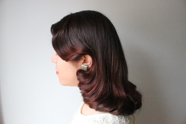 1940s inspired hair by Vintage Beauty Detective