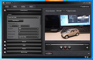 canon as webcam