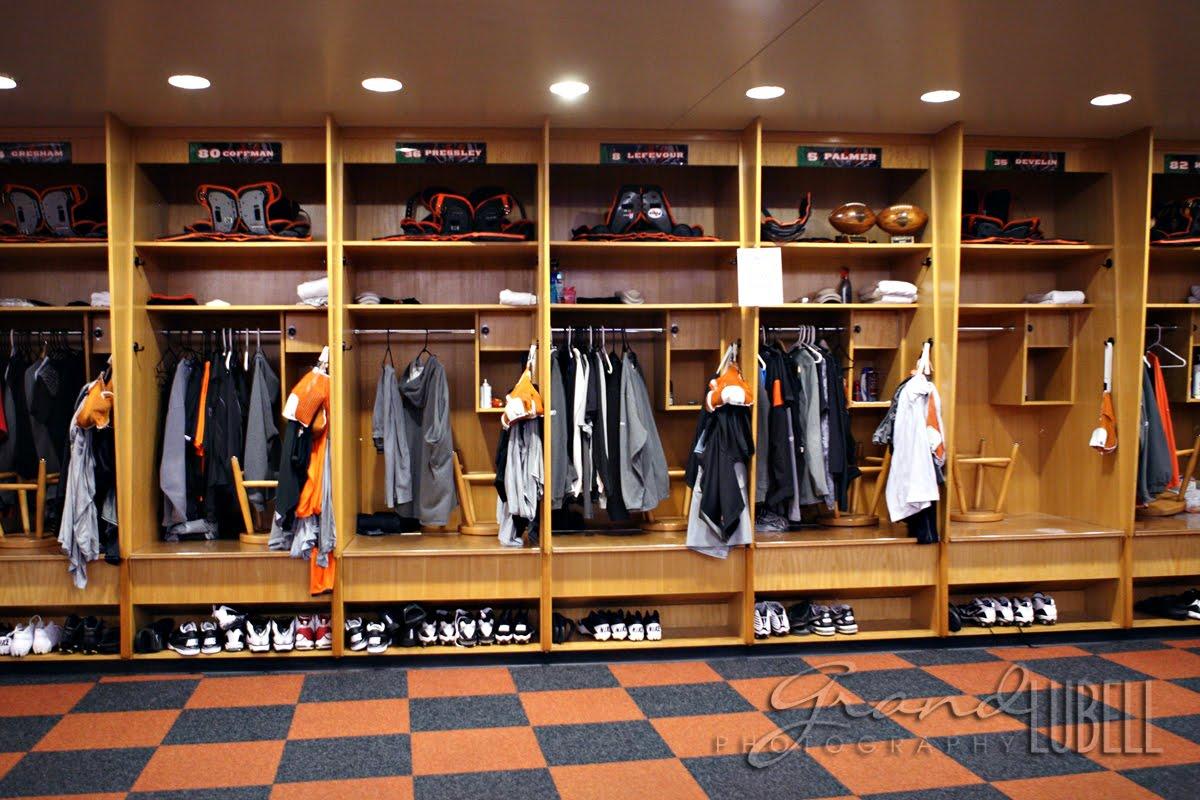 Football Locker Room Lockers