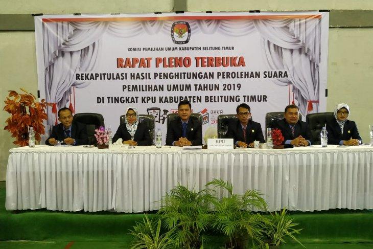 Jokowi-Ma'ruf menang di Belitung Timur