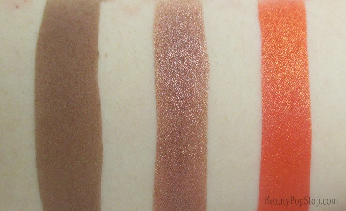 makeupforever artist shadow swatches from 30 year anniversary palette