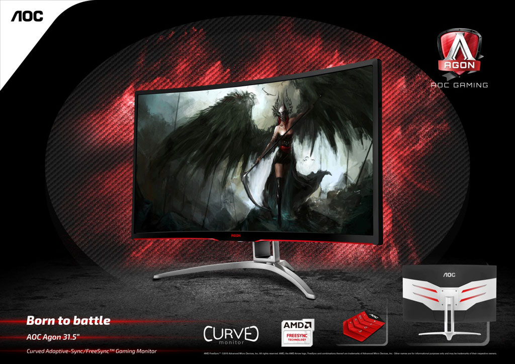 AOC AGON Gaming Monitors