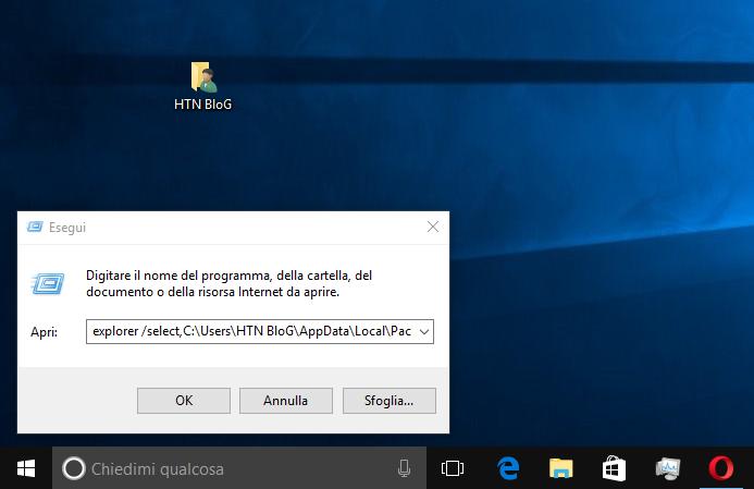 Come salvare l'immagine attuale della Schermata di blocco in Windows 10 3 HTNovo