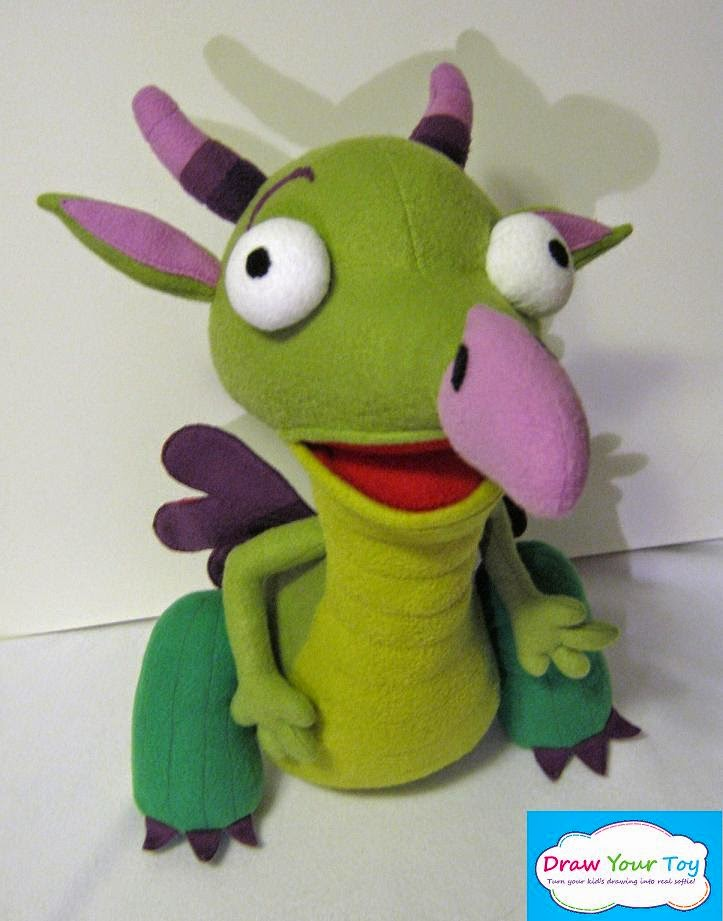Draw Your Toy Dragon Draco From Baby Tv
