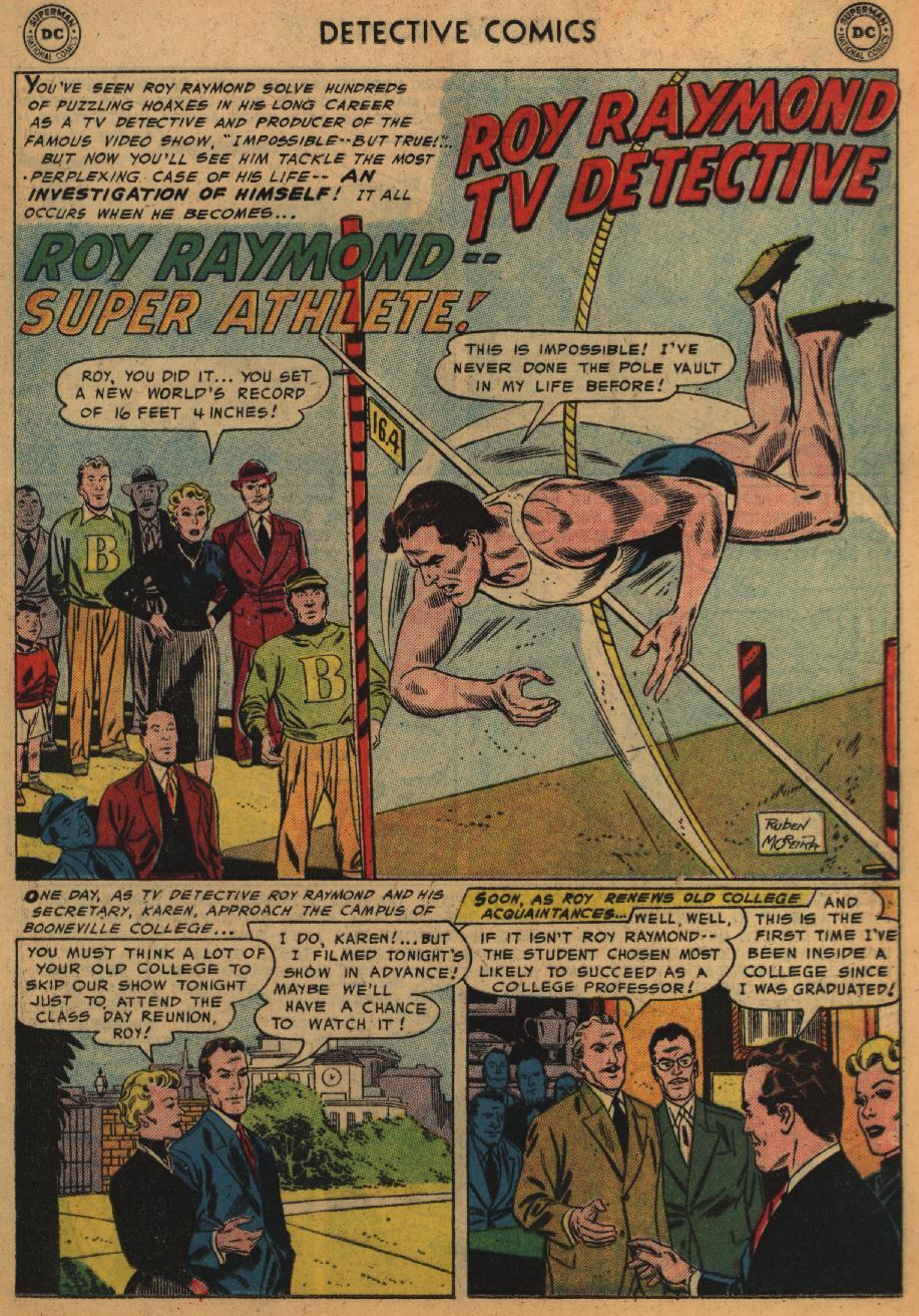 Read online Detective Comics (1937) comic -  Issue #226 - 17