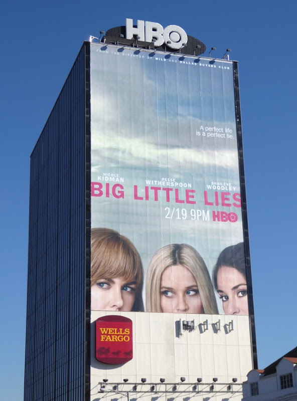 Giant Big Little Lies HBO series billboard