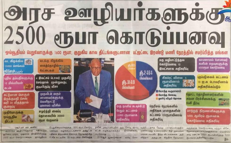 News paper in Sri Lanka : 06-03-2019